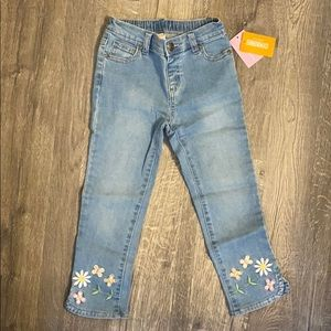 The Children's Place Gymboree embroidered jeans